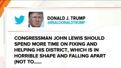 Donald Trump fires back at John Lewis' 'not legitimate president' comment