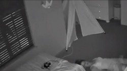 Watch this mom's hilariously stealthy exit from sleeping child's room