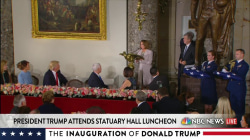 Nancy Pelosi Toasts President Trump
