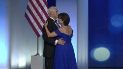 Vice President Pence Joins First Couple for Dance at Freedom Ball