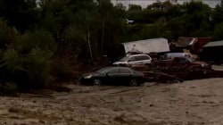 Flooding and landslides from heavy rain causes substantial damage in California