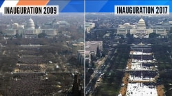 Tweet comparing Obama and Trump's inauguration crowd sizes is against government policy