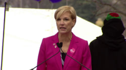 Cecile Richards Rallies for Reproductive Rights at Women's March