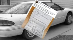Man Gets Ticket For Leaving Car Running in Driveway
