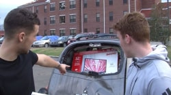 Ride Of A Lifetime: Students Drive Into Tornado