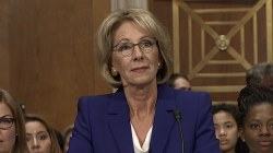 Betsy DeVos Faces Off Against Democrats in Hearing for Secretary of Education