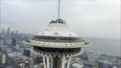 Caught on Camera: Drone crashes into Seattle's Space Needle