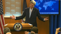 John Kerry Brought His Dog To The Final State Dept. Meeting