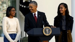 President Obama 'Could Not Be Prouder' of Sasha and Malia
