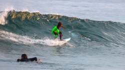 Dad Snaps Frightening Photo of Surfing Son