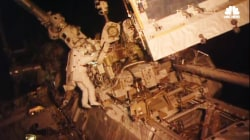 Astronauts Spacewalk to Upgrade Lab's Solar Power Grid