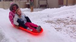 Utah Family's Backyard Luge a Winter Win