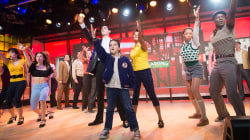 Watch 'A Bronx Tale' cast perform scene from new musical live on TODAY