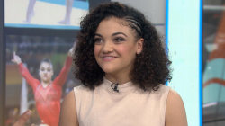 Laurie Hernandez talks about her new memoir, Olympic challenges and dating