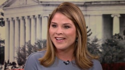 Jenna Bush Hager on having president for dad: 'He carries the weight of the world'