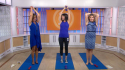 Hoda Kotb and Jenna Bush Hager power through quick #StartTODAY exercises