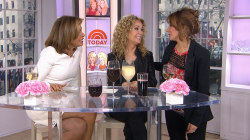 KLG and Hoda send TODAY producer off in style (with wine!)