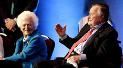 George H.W. Bush and wife Barbara 'on the upswing' in Houston hospital
