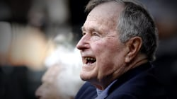 Former President George H.W. Bush hospitalized in Houston