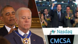 Obama surprises Biden, Sunday TODAY rings Nasdaq opening bell: See this week's Highs and Lows