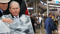 Highs and Lows: George W. Bush's poncho battle, Black Friday-level stampede at Packers-Cowboys game