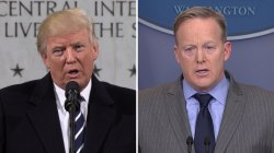 Donald Trump, press secretary blast media, claim it distorted details
