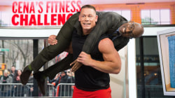 John Cena demonstrates quick fitness moves (and hoists Al Roker!)