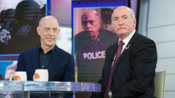 J. K. Simmons is joined on TODAY by real-life hero he plays in 'Patriots Day'
