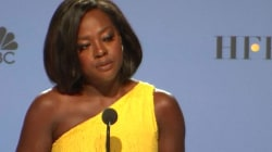 Golden Globe Winner Viola Davis Says U.S. Has 'Fallen Short' by Electing Trump