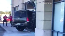 Dissatisfied T-Mobile Customer Drives SUV Through Store Window
