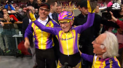 105-Year-Old Cyclist Sets New World Record