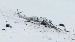 Rescue Helicopter Crash Kills Six in Italian Mountains