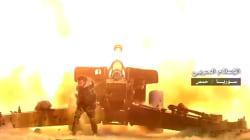 Syrian Troops Battle ISIS in Palmyra Desert