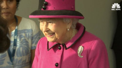 Britain's Queen Elizabeth II Attends First Official Engagement of 2017
