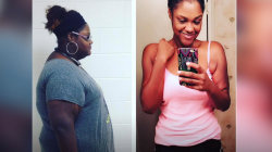 How this woman lost 160 pounds in 2 years