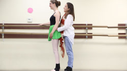 7 years of ballet help young woman walk again