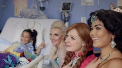 College students bring magic to sick kids by visiting them dressed as princesses