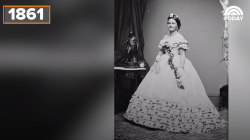 Looking back at 150 years of first lady gowns at inaugurations