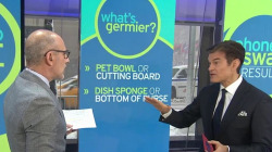 Pet bowls, sponges, cellphones: Dr. Oz reveals where germs lurk