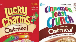 Lucky Charms, Cinnamon Toast Crunch unveil oatmeal versions of their cereals