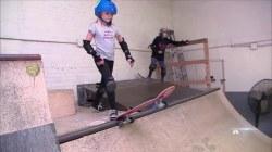 Inspiring America: Encouraging Girls to Pick Up Skateboarding