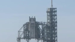 SpaceX rocket in final countdown for its first mission to space