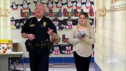 Inspiring America: Cop Helps Fifth-Grader With Math Homework
