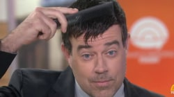 Are 'man bangs' the new man bun? (Carson Daly gives them a try)