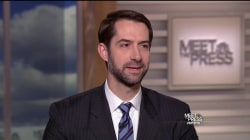 Cotton: Special Prosecutor Talk is 'Getting Ahead of Ourselves'