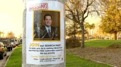 "Protesters Hold Vigil For ""Missing"" California Congressman"