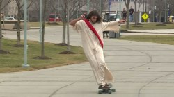 'Longboard Jesus' Is Campus Holy Roller