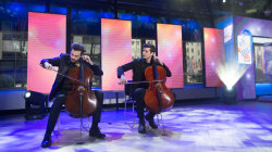 2Cellos perform awesome 'Game of Thrones' medley live on TODAY