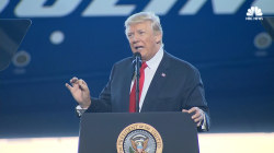 Trump Talks Post-Election 'Surge' in Jobs, Business at Boeing Unveiling