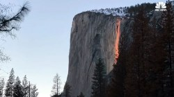Stunning Timelapse Captures Firefall Phenomenon at Yosemite